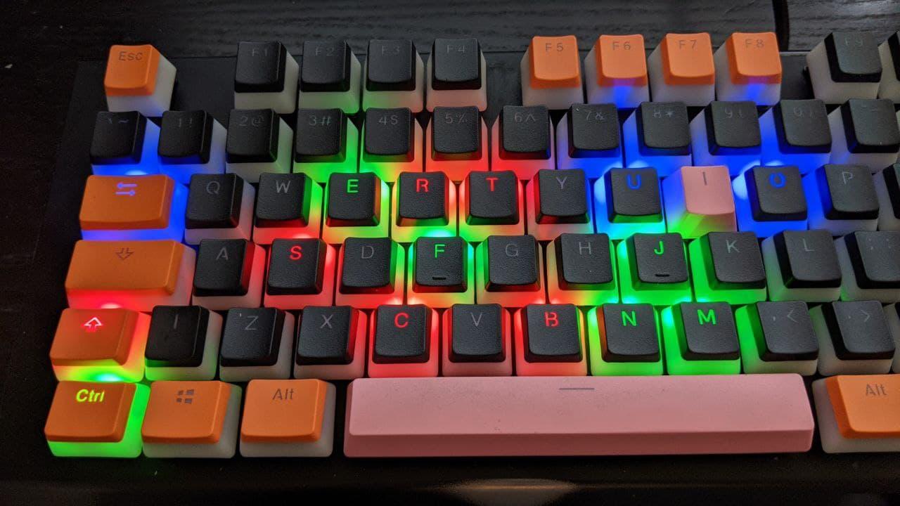 Keycaps foto