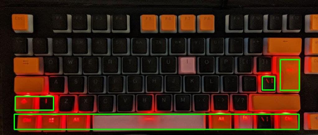 mechanische tastatur foto
