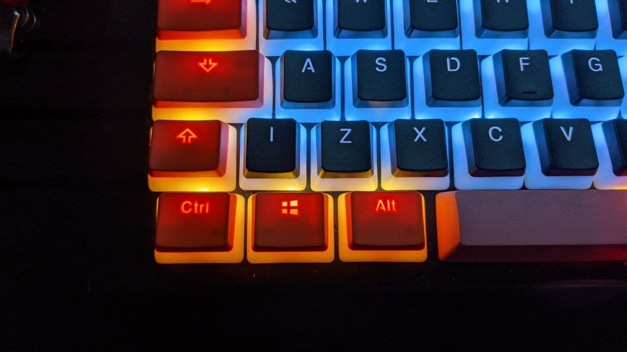 tastatur links