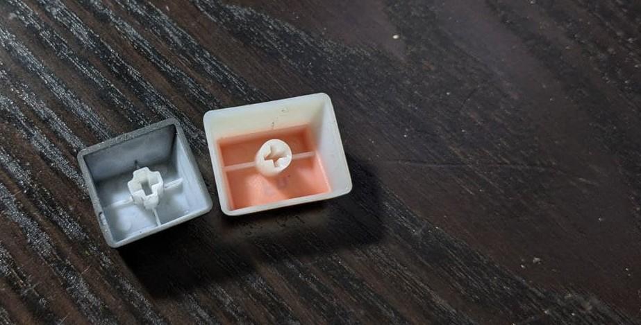 tastenkappen  für mechnische tastaturen von innen