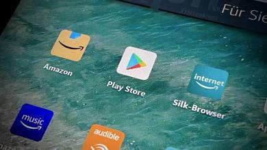 Amazon Fire HD Google Play Store