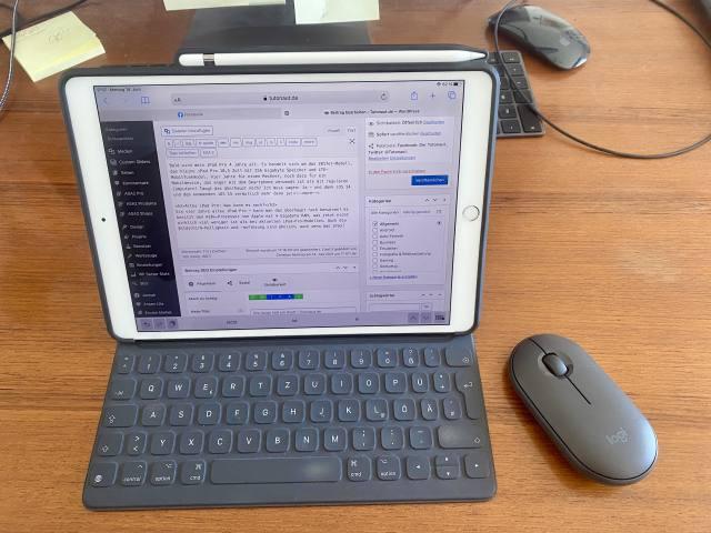 iPad Pro 2017: Nach vier Jahren immer noch kein bisschen langsam. (Foto: Tutonaut)