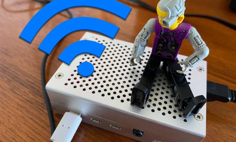 Mit wenigen Handgriffen wir der Raspberry Pi zum WLAN-Router (Foto: Christian Rentrop)