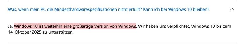 windows 10 großartige Version