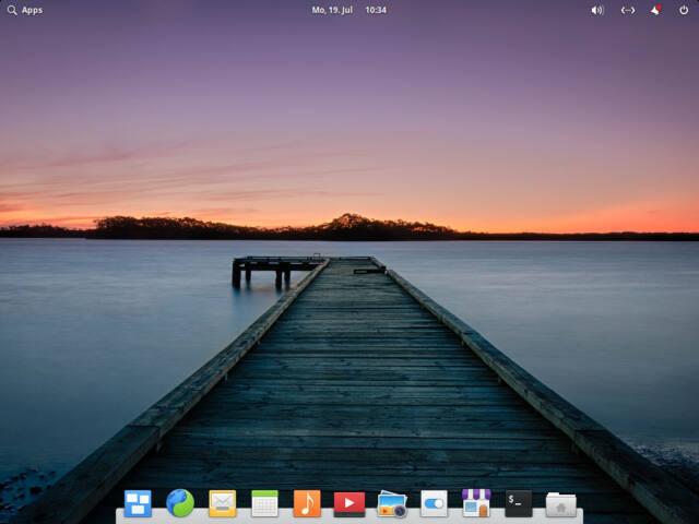 Aufgeräumt und modern: elementary OS