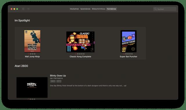 Mit Homebrew-Titeln könnt Ihr den Emulator ganz legal benutzen.