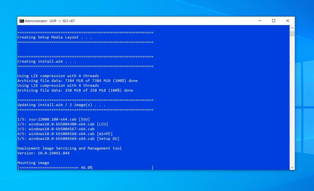 Windows 11 ISO erstellen