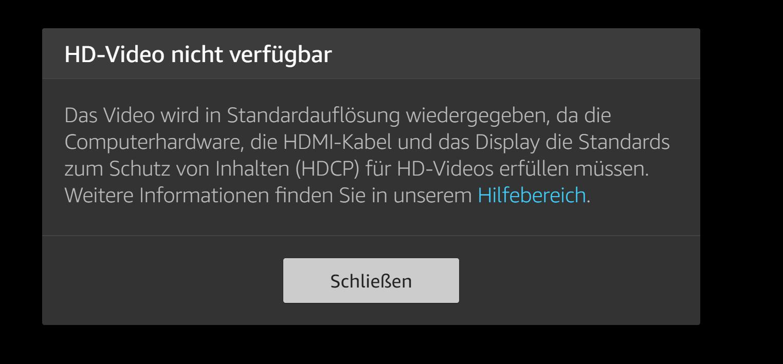amazon prime video fehlermeldung.