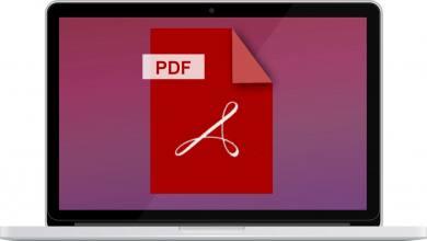 macOS PDF erstellen MacBook Mac