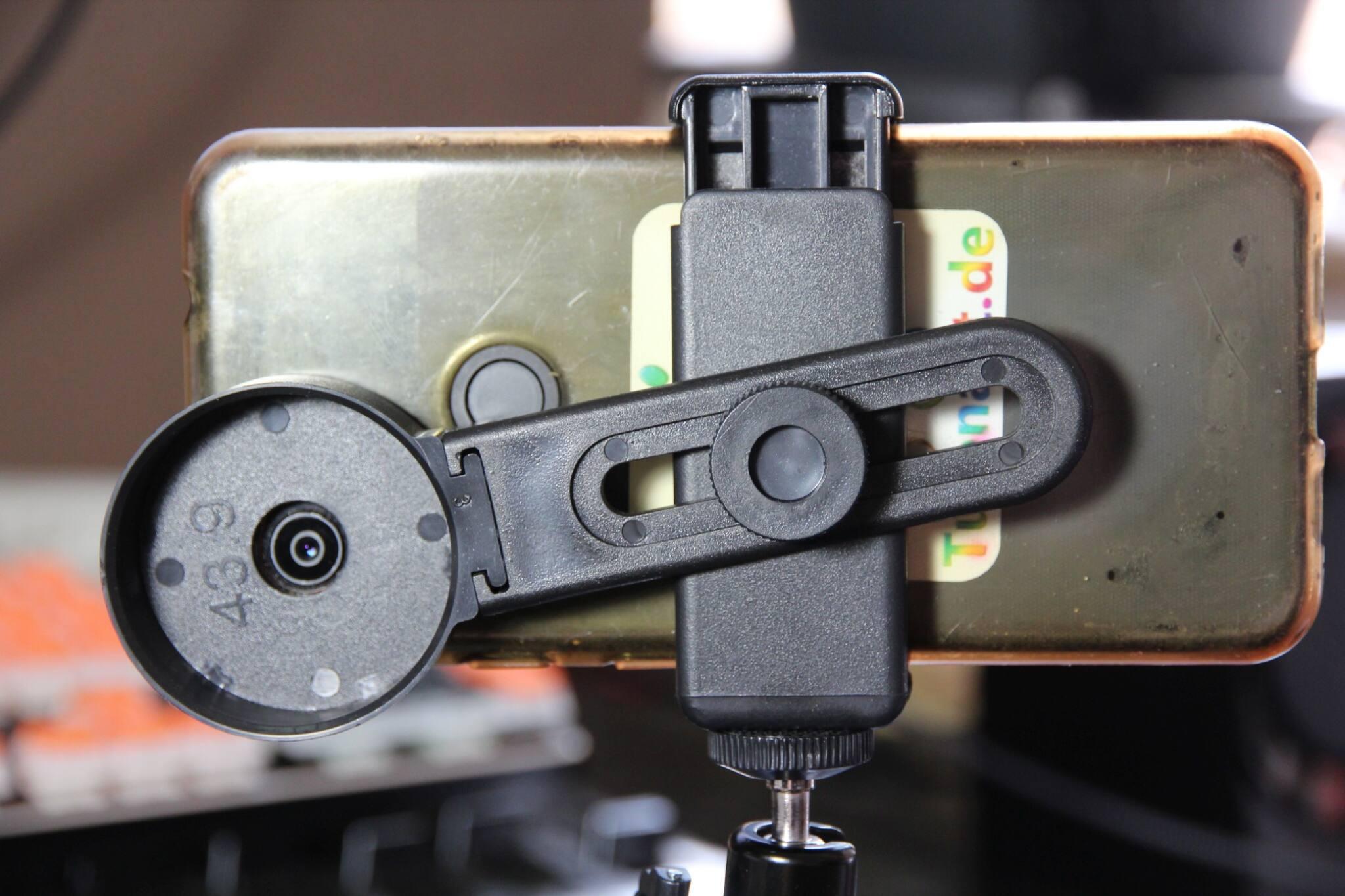 smartphone-halterung im detail.