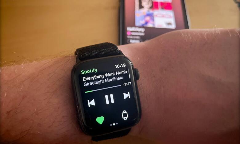spotify download app Apple Watch