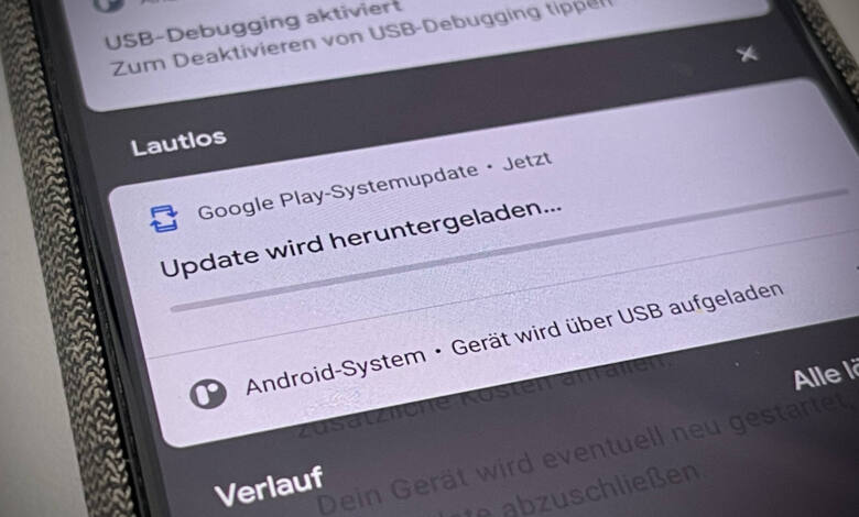 Android Google Play-Systemupdates installieren