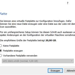 hdd-einstellungen von virtualbox für eine windows-11-vm.
