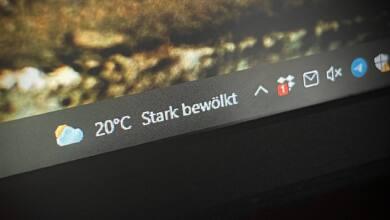 Windows 10 Wetter Widget entfernen
