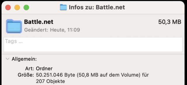 Das Icon könnt Ihr immer über die Dateiinformationen von MacOS ändern.