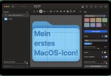 Coole MacOS-Icons sind mit Pixelmator Pro im Handumdrehen erstellt.