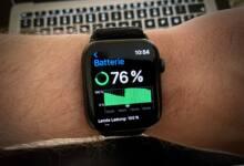 Apple Watch Akkuzustand Batteriezustand