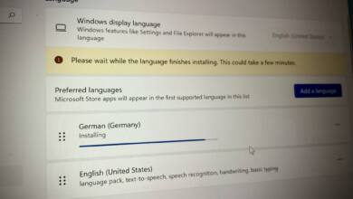 Windows 11 Systemsprache umstellen