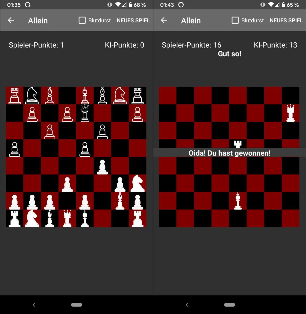 chaos schach.
