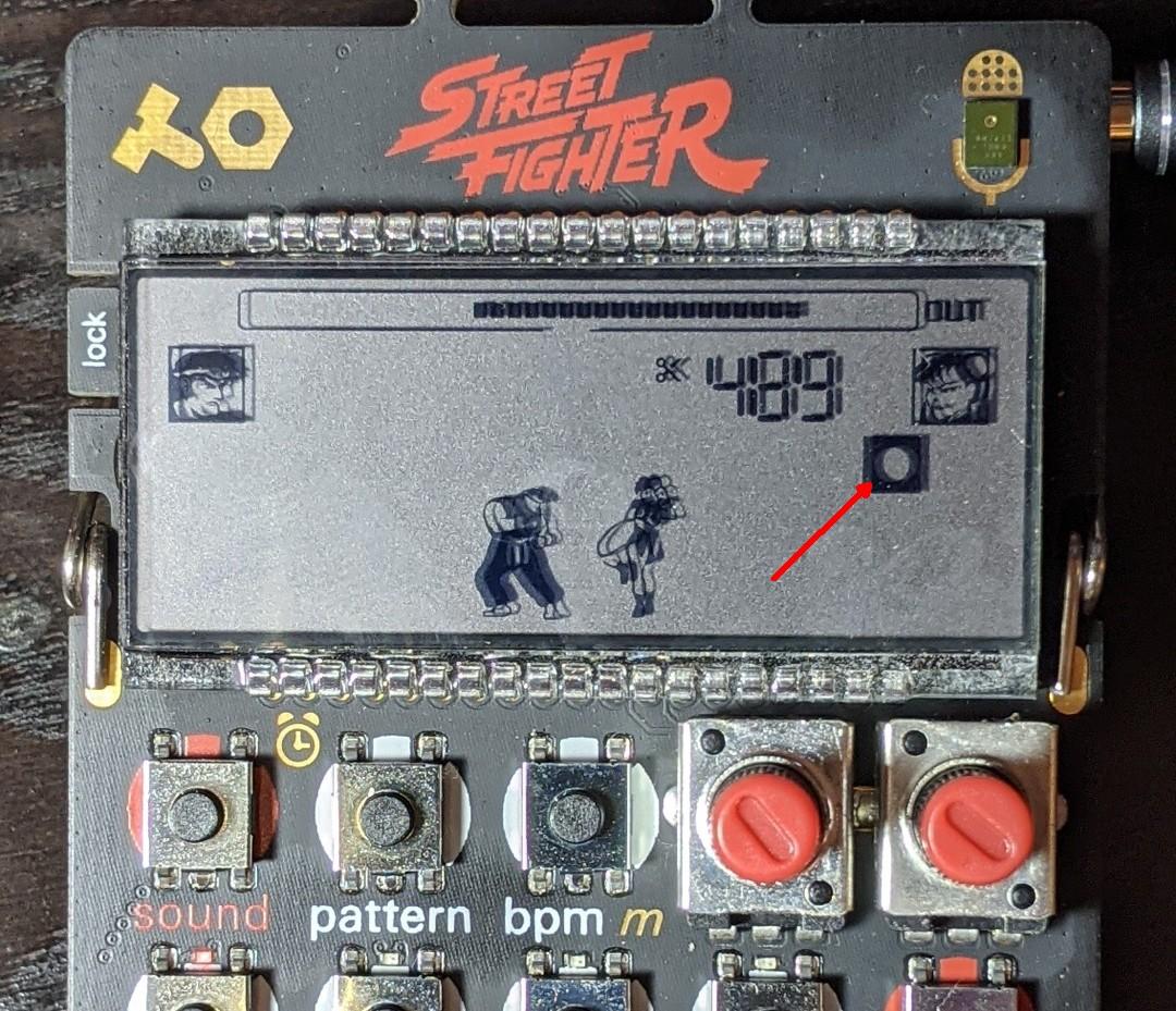 teenage engineering pocket operator display mit edit icon.