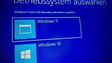 Windows 11 und Windows 10 Dual Boot einrichten